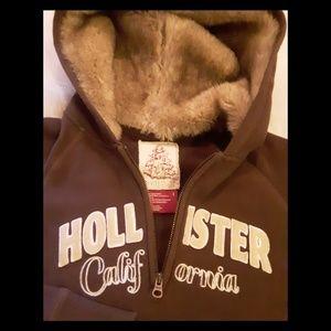 New! Fur Hood Hollister!